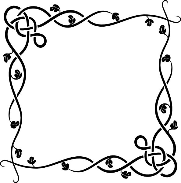 Border Clipart Black And White Free download best Border Clipart