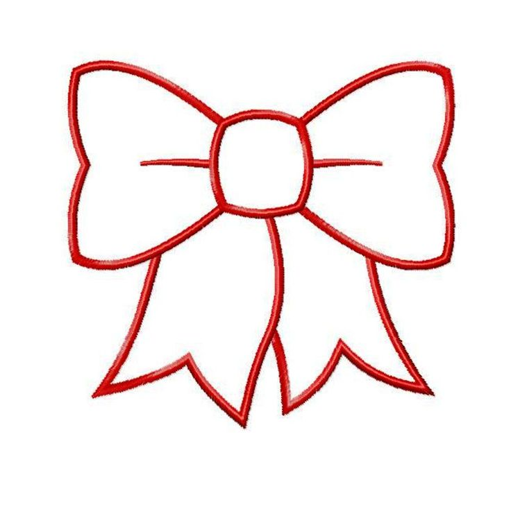 Bow Cut Outs Free download best Bow Cut Outs on ClipArtMag