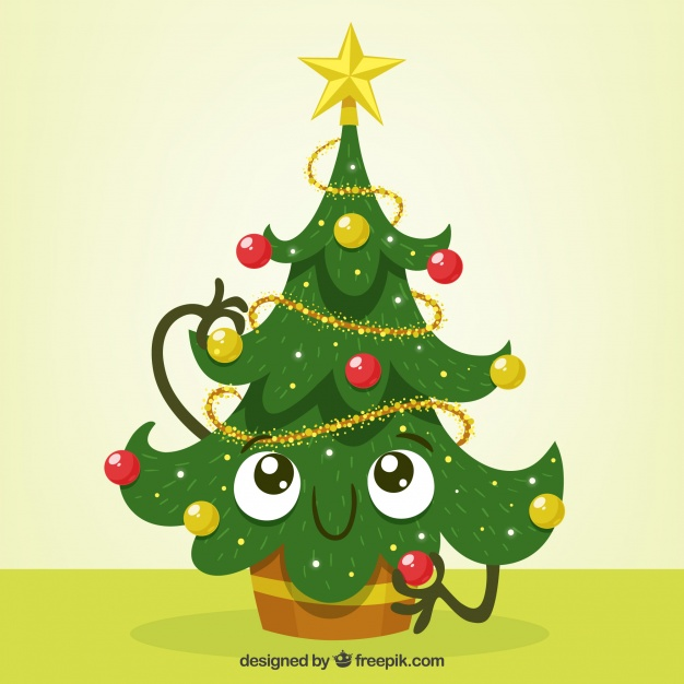 Cartoon Christmas Tree Pictures Free download best Cartoon