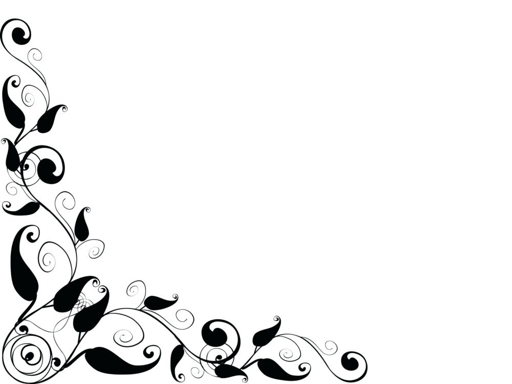 Christmas Clipart Black And White Border Free download best