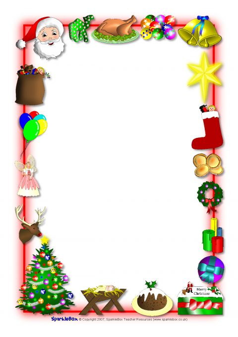 Christmas Page Borders For Microsoft Word Free download best - free page borders for microsoft word