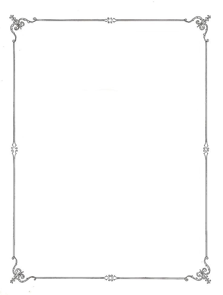 Simple Page Borders Clipart Free download best Simple Page Borders