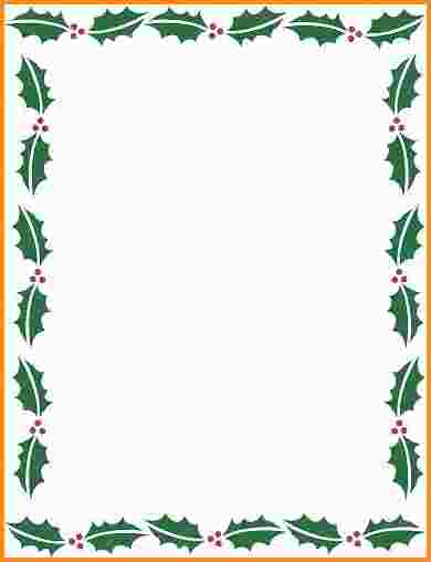Holiday Borders For Microsoft Word Masterlistforeignluxuryholiday