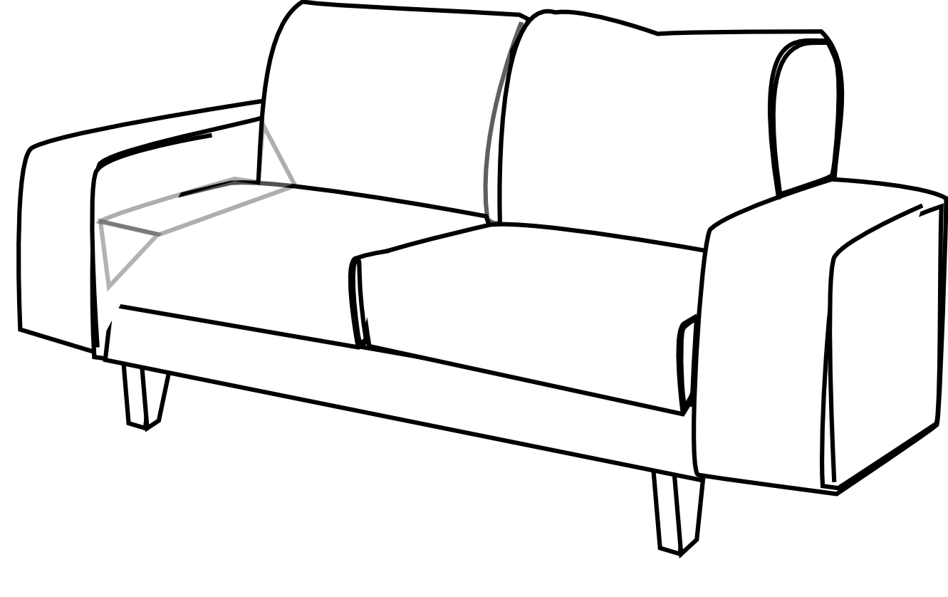 Sofa Set Vector Png Couches Clipart Free Download Best Couches Clipart On Clipartmag
