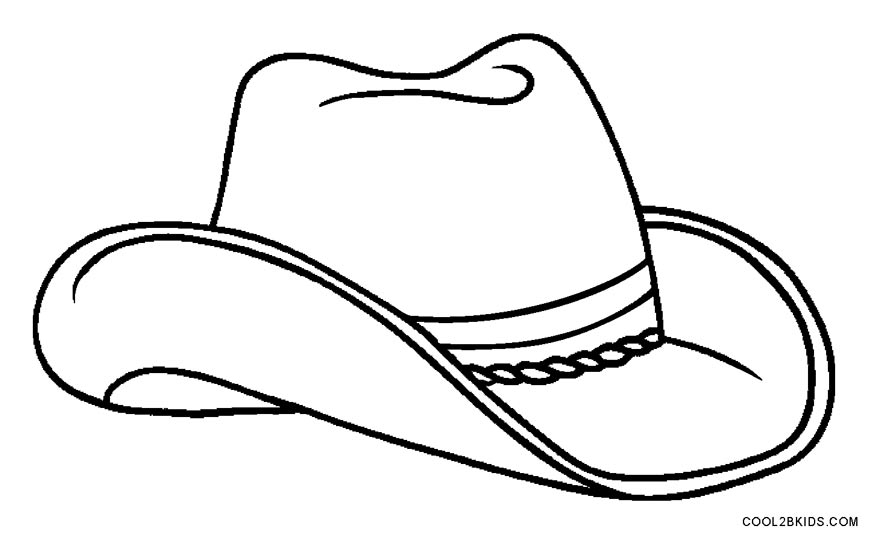 Cowboy Hat Clipart Black And White Free Download Best