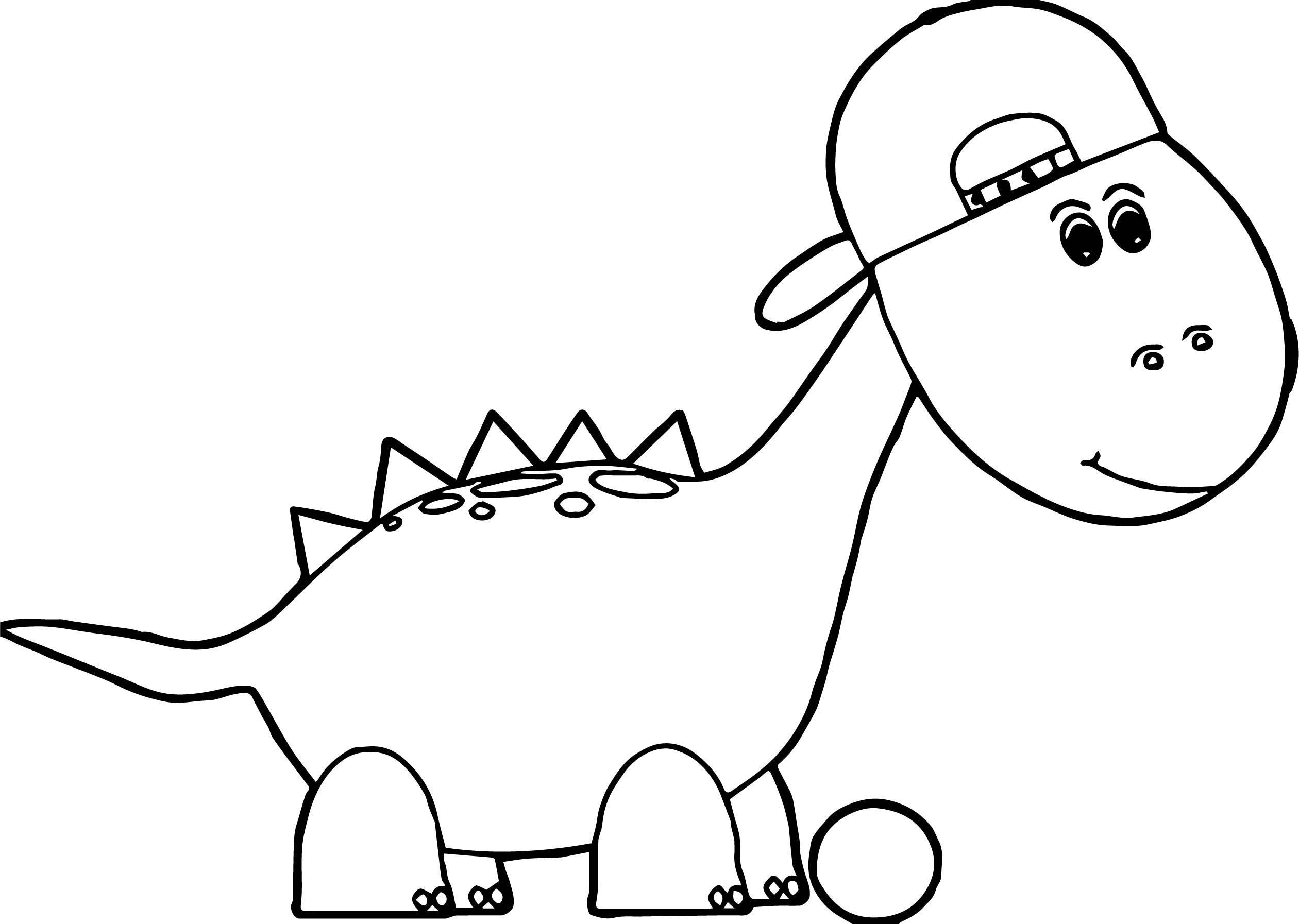 Christmas Dinosaur Coloring Pages - Costumepartyrun