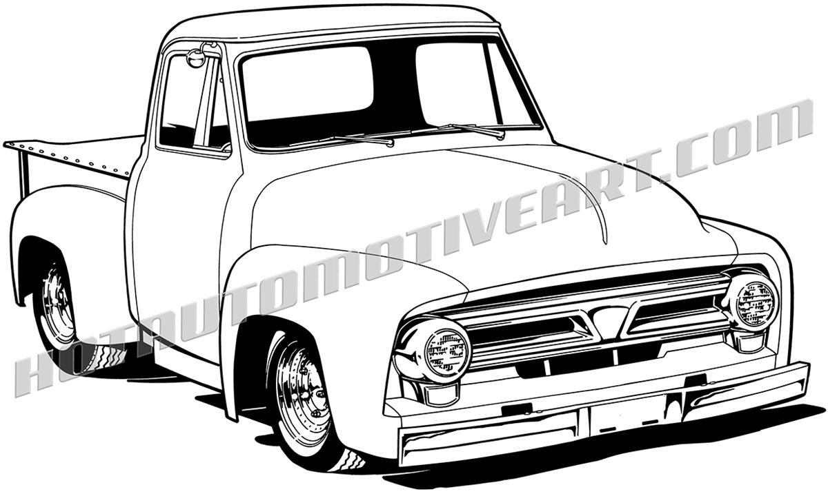1954 ford f100 truck