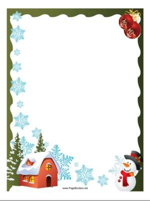 Free Christmas Border Templates Free download best Free Christmas