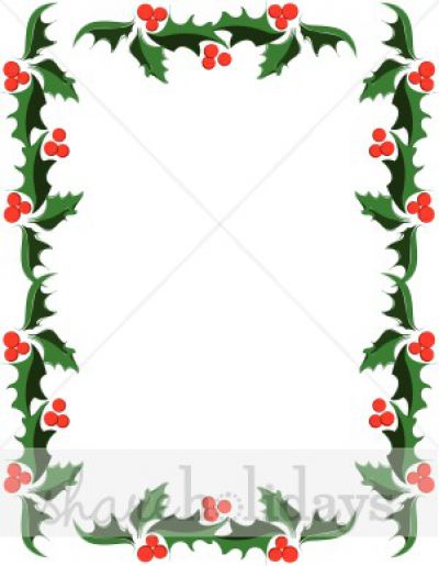 Free Christmas Borders For Microsoft Word Free download best Free