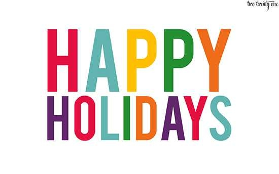Free Happy Holidays Clipart Free download best Free Happy Holidays - free images happy holidays