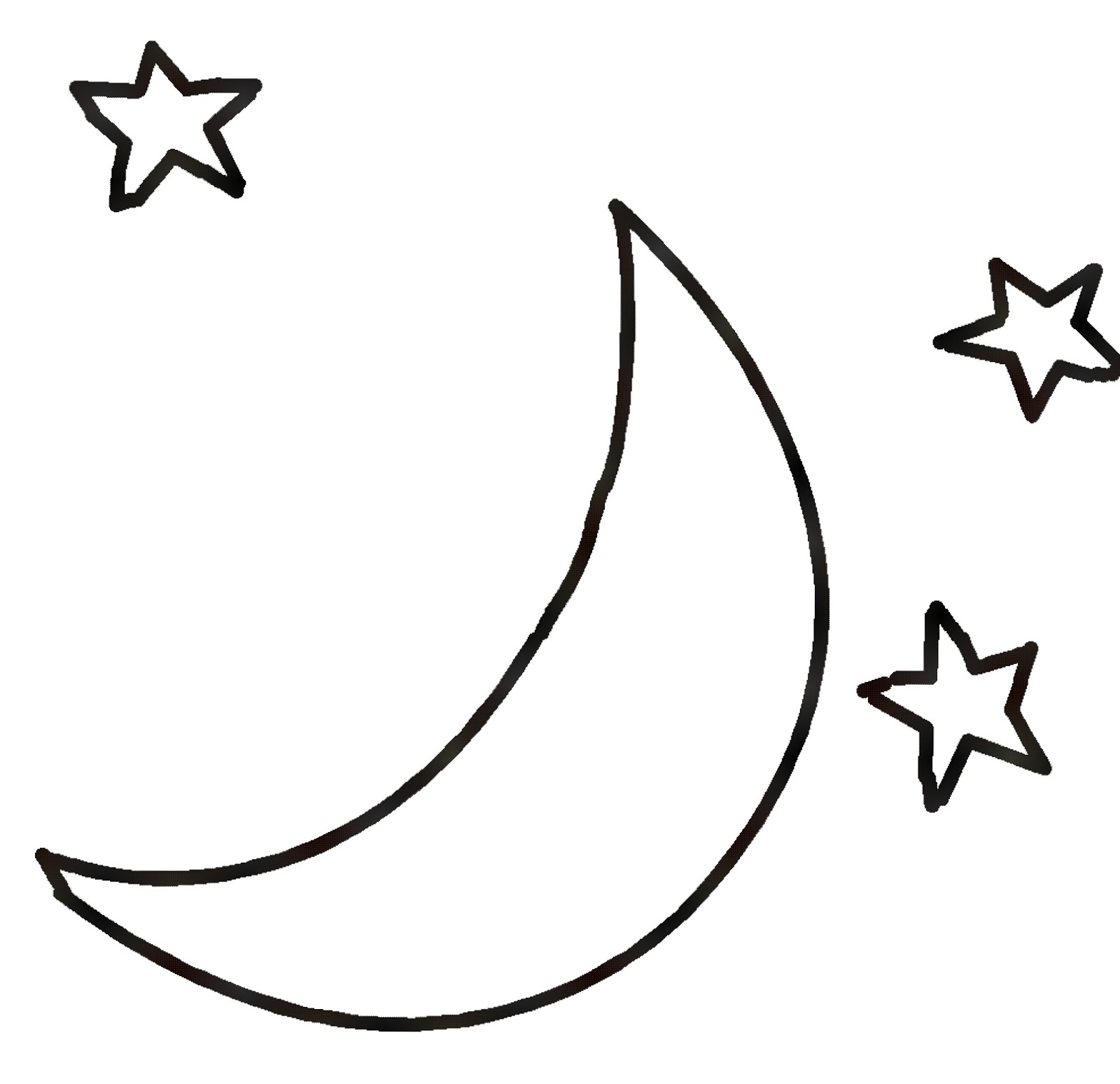 Full Moon Drawing Black And White Full Moon Clipart Black And White Free Download Best Full Moon