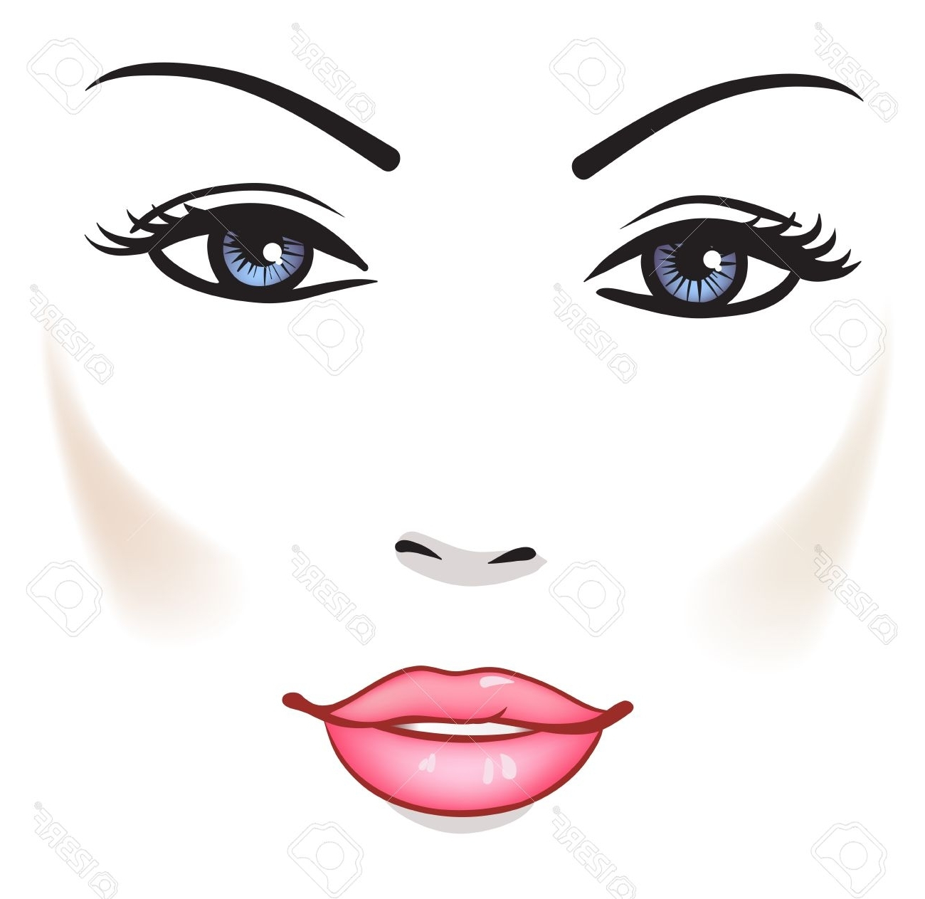 Falling Hair Haircut Wallpaper Girl Drawing Face Free Download Best Girl Drawing Face