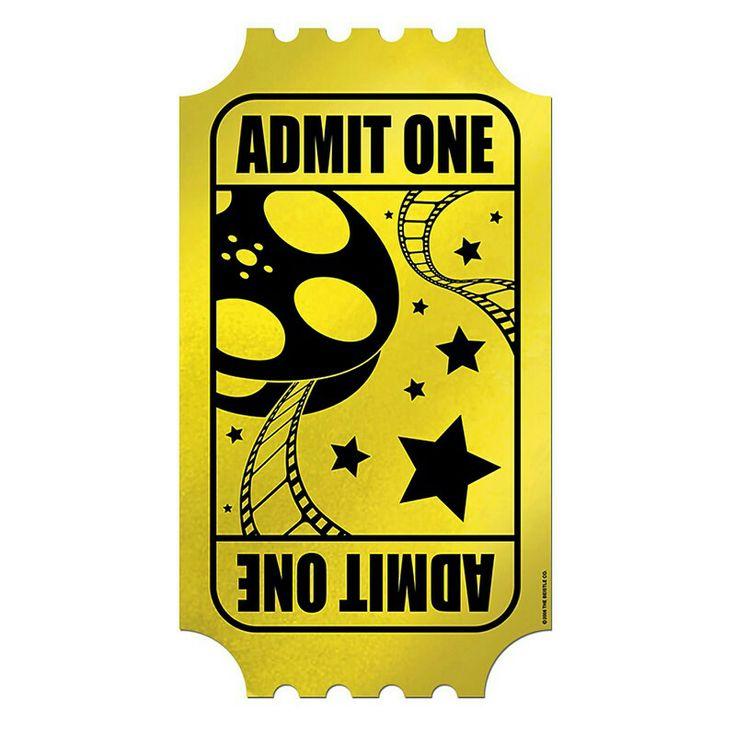 Golden Ticket Template Clipart Free download best Golden Ticket