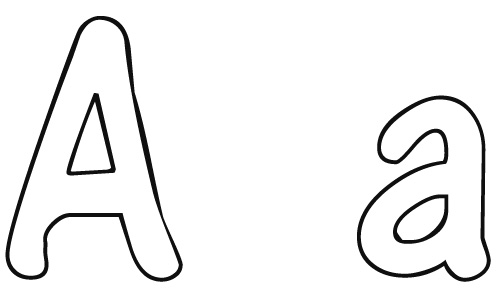 Letter A Coloring Pages Free Download Best Letter A