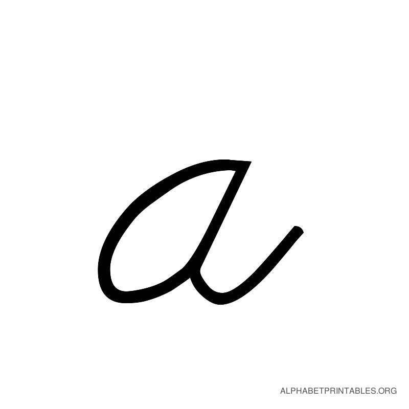 Letter A In Cursive Free download best Letter A In Cursive on