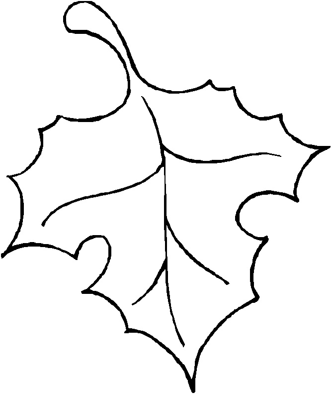 fall leaves template - Apmayssconstruction