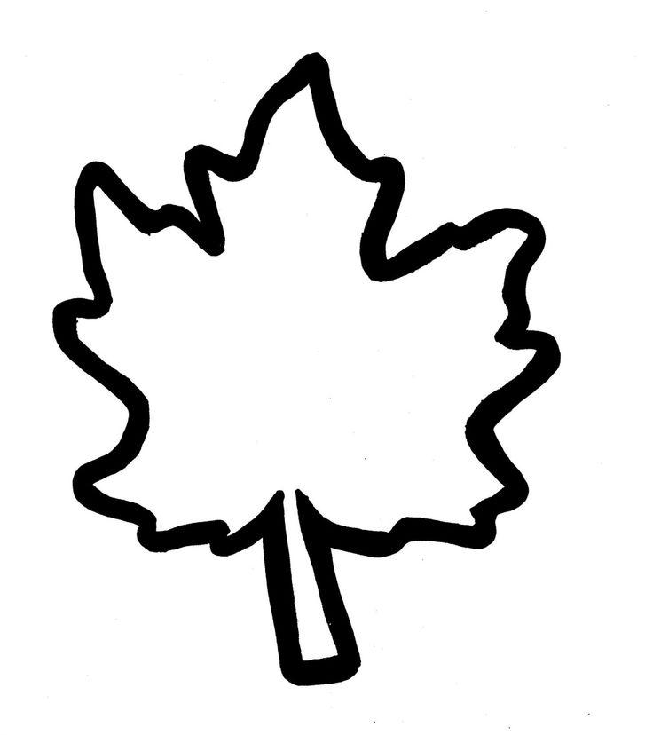 Oak Leaf Outline Free download best Oak Leaf Outline on ClipArtMag