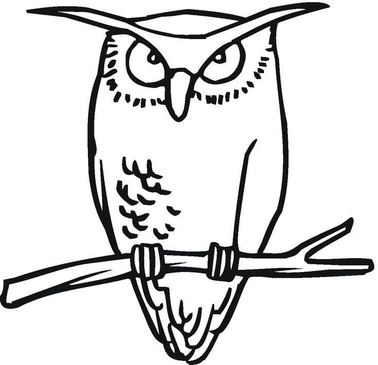 Free Printable Owl Clip Art