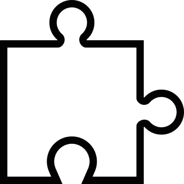 Puzzle Piece Outline Free download best Puzzle Piece Outline on