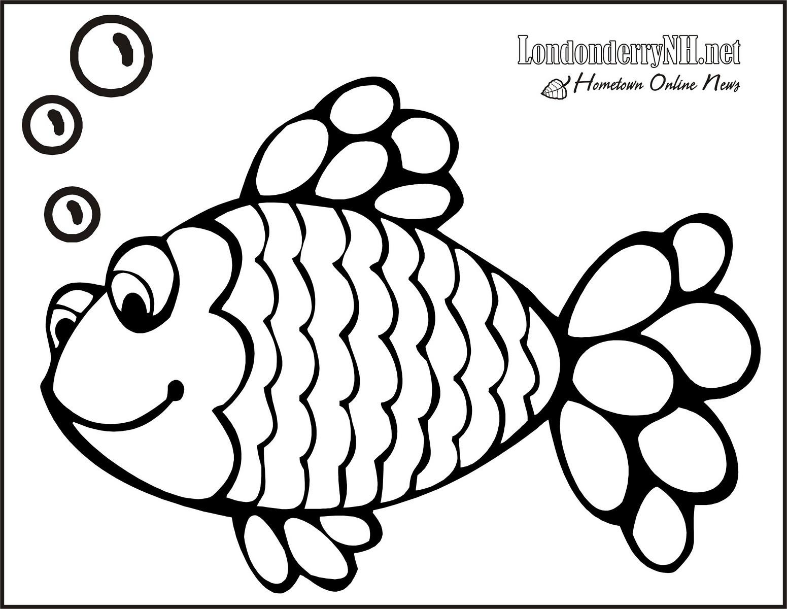 Fish Coloring Template Erieairfair
