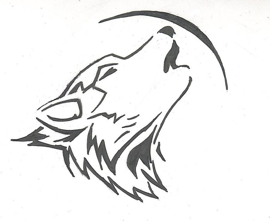 Running Wolf Tattoo Clipart Free Download Best Running