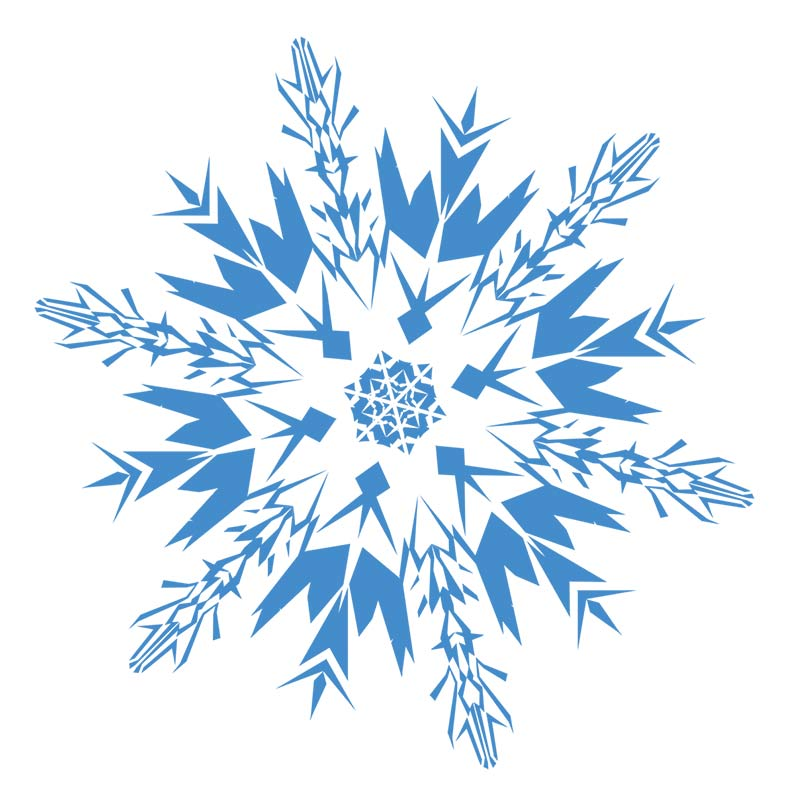 Snowflake Border Clipart Free download best Snowflake Border - snowflake borders for word