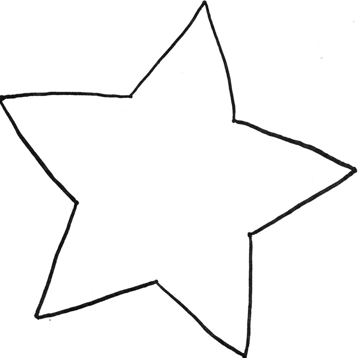 Star Outline Printable Free download best Star Outline Printable