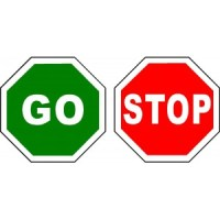 Stop And Go Signage | Free download best Stop And Go ...