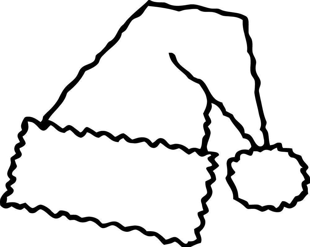 Coloring Page Hat - Eskayalitim