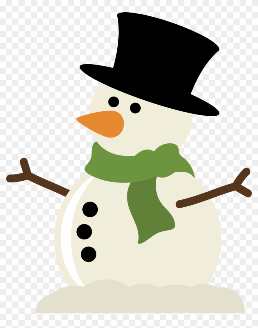 Cute Christmas Snowman Clip Art Snowman Arms Svg Free Transparent Png Clipart Images Download