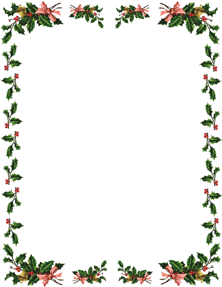 Microsoft Christmas Borders Clipart