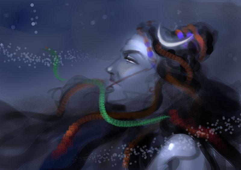 Maa Kali 3d Wallpaper Shiva Sketch Cliparts Co