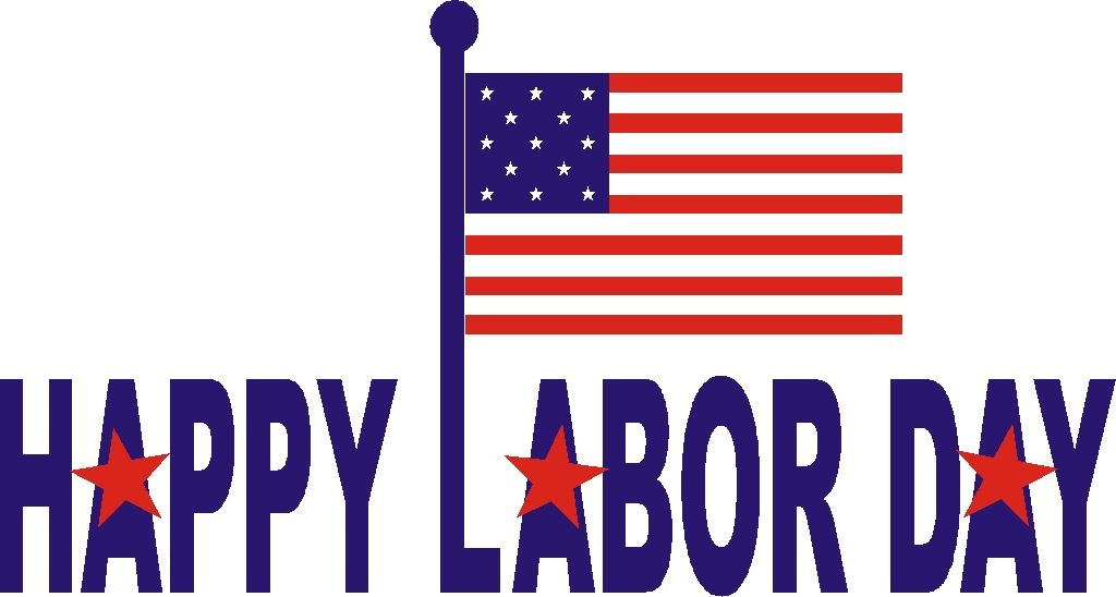 Free Labor Day Clipart to use at parties, on websites, blogs or at