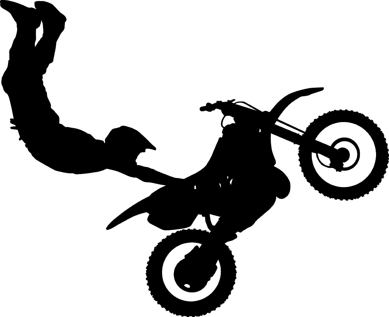 Amazon com thevinylguru motocross wall decal sticker dirt