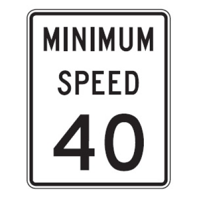 Printable Speed Limit 40 Signs