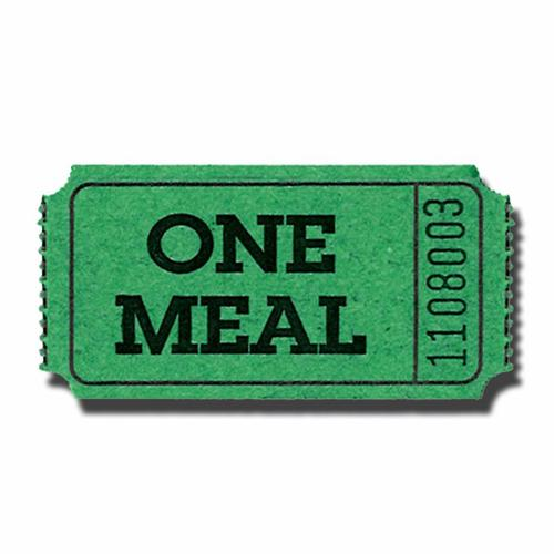 lunch ticket template