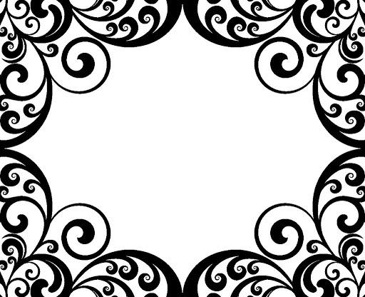 Swirl Border Clip Art - Cliparts