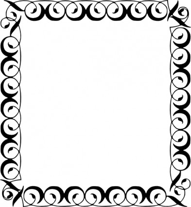 Free Snowflake Border Clipart - Cliparts - snowflake borders for word