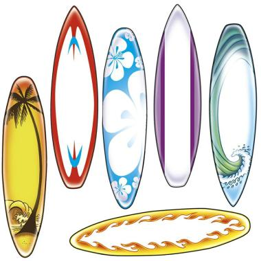 Surfboard Coloring Pages Printable - 3greenangels.com