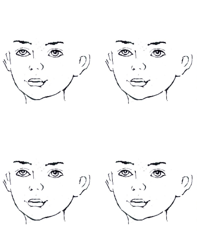 Blank Childs Face Template - Cliparts