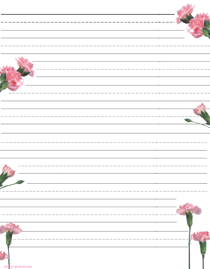 Free Printable Border Stationery - Cliparts