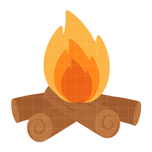 Free Animated Fireplace Wallpaper Clip Art Camp Fire Cliparts Co