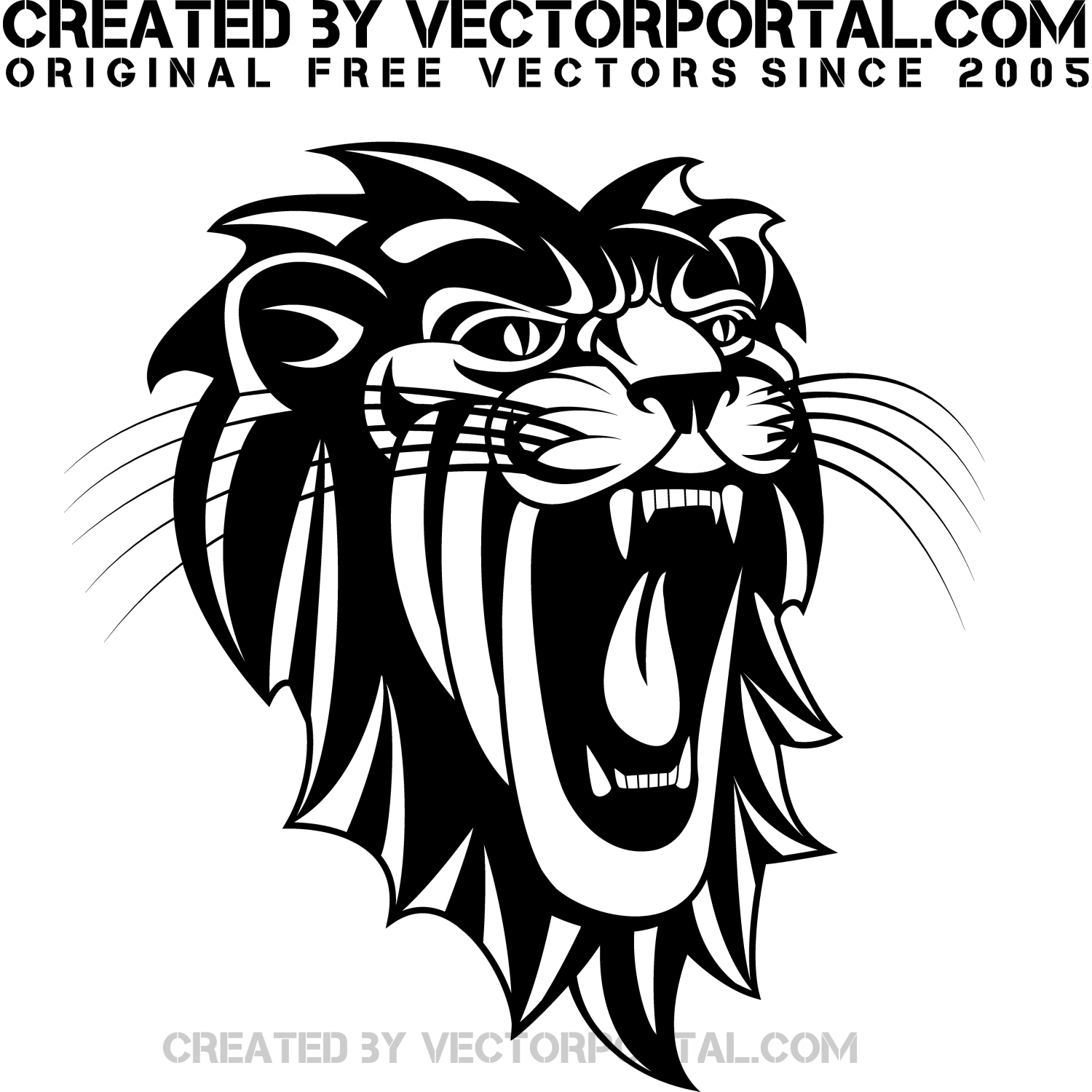 Roaring Lion Clip Art Black And White Roaring Lion Clipart Black And White Cliparts Co