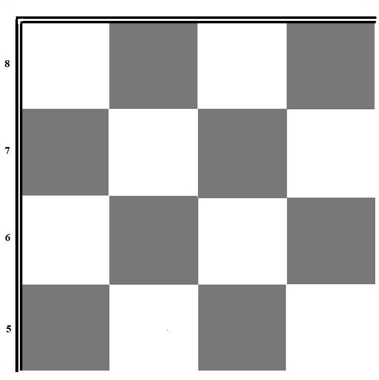 Printable Chess Board - Cliparts