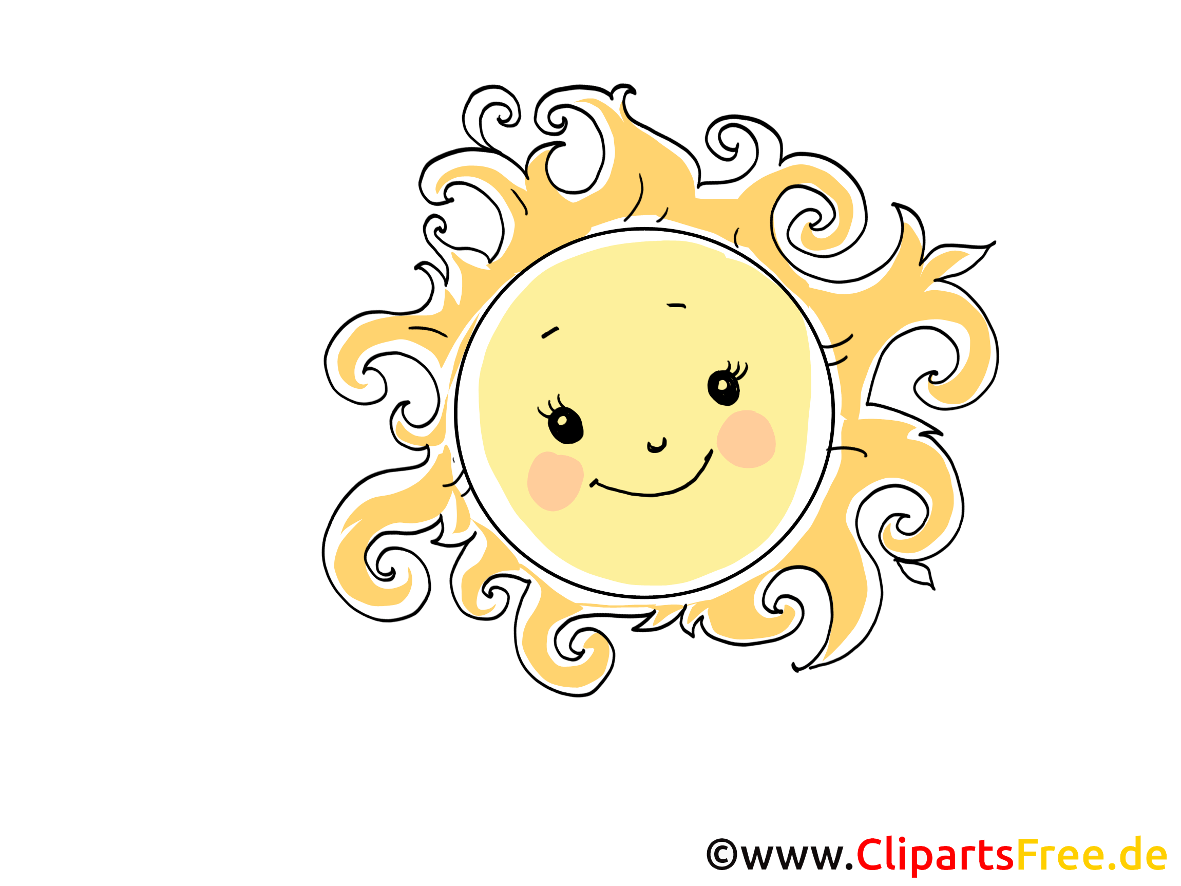 Sonne Bilder Comic Sonne Clip Art Bild Cartoon Comic Grafik