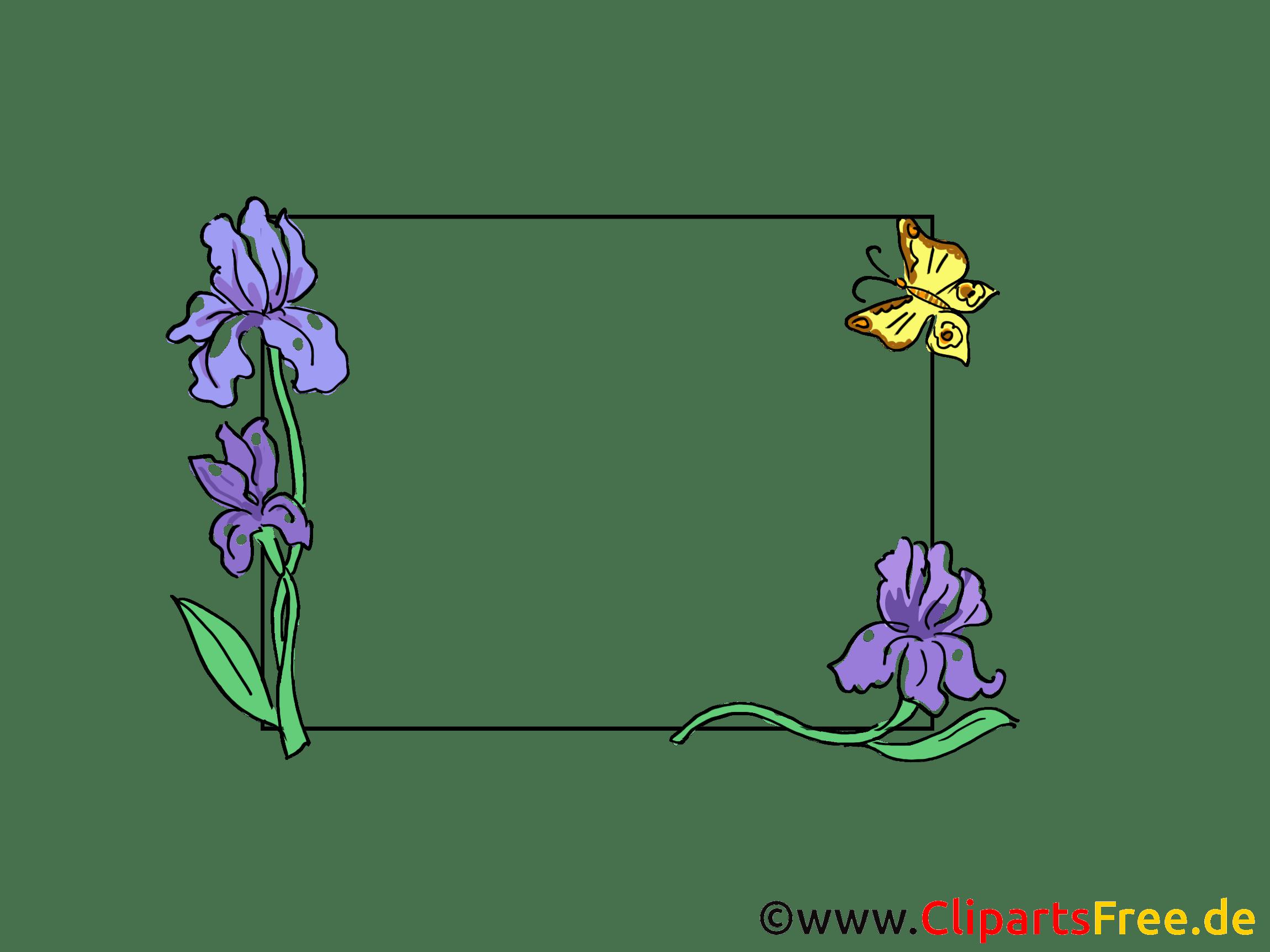 Blumenranke Ecke Clipart Ranke Zusammenfassung Blumen Stockfotos