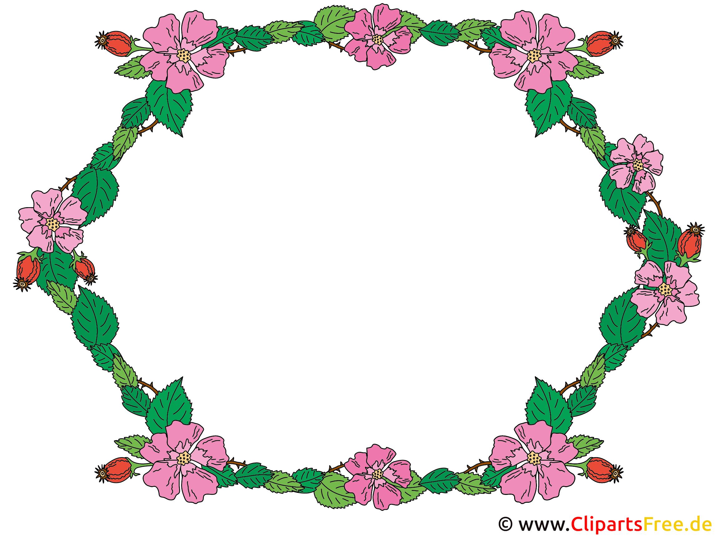 Rahmen Blumen Gallerphot Blumen Rahmen Clipart Kostenlos