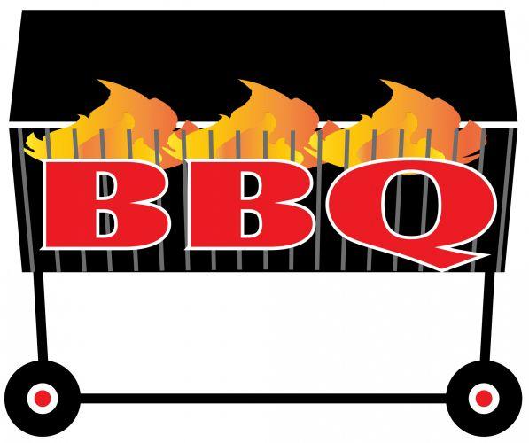 Bbq backyard barbecue clip art cocoa mint digital clip art