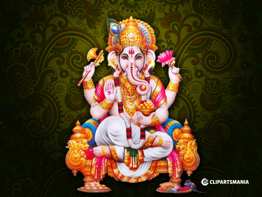 Vinayagar Animation Wallpaper Vinayagar God Wallpapers Pillayar God Desktop Wallpapers