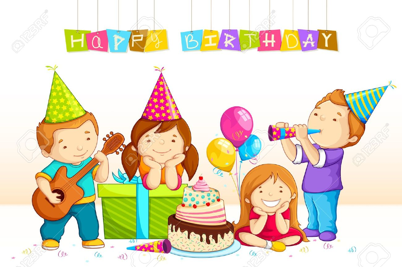 Geburtstag Feiern Birthday Party Clipart 6 » Clipart Station